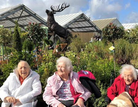 Residents Enjoy a Trip to Norcutts Garden Centre
