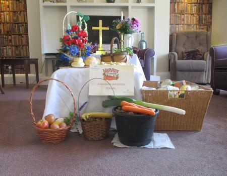 Henford House Donates to Charity to Mark the Harvest Festival
