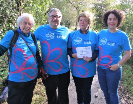 Home Completes Memory Walk for Alzheimer's