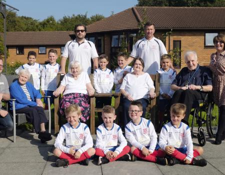 Local Care Home Supports Local Young Footballers