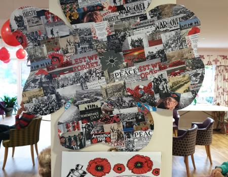 Armistice Day Banks Southport Sutton Grange Care Home