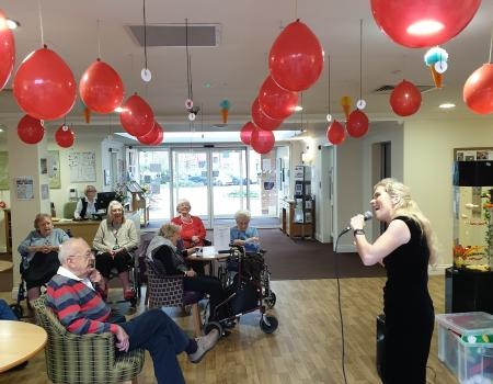 Sutton Grange care home banks residents