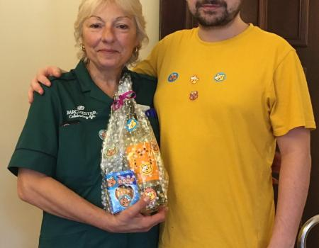 Caldy Manor care home supporting Chikdren in Need Charity