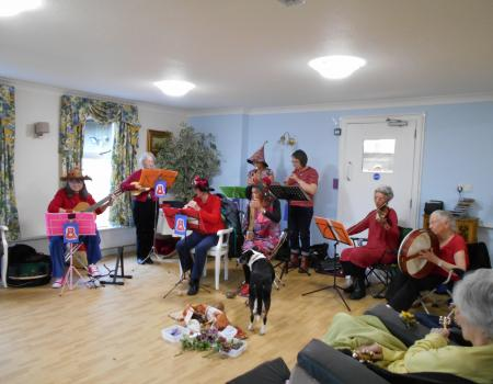 Red Cat Folk Collective at Barchester