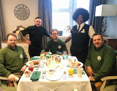 Breakfast with the Rangers
