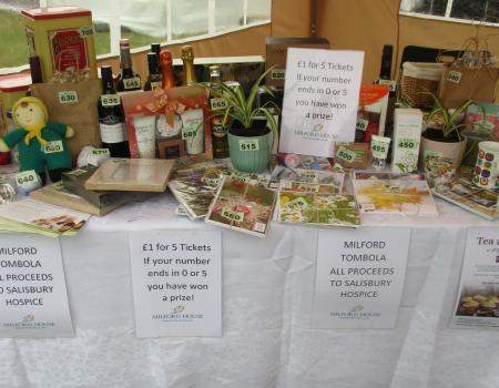 Milford House Supports Salisbury Hospice