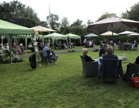 Music Event in the Garden