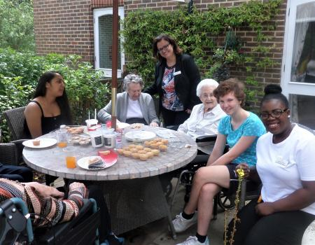 NCS Tea Party with Residents
