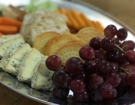 Cheese and wine party