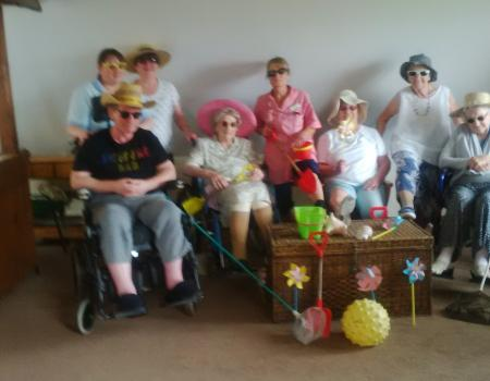 The seaside comes to Moreton HIll