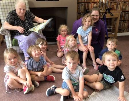 Story Telling with Local Nursery
