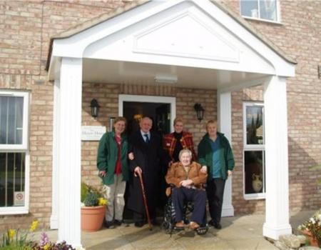 Barchester dementia facility opening marked with time capsule