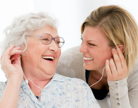 Music can help to treat health issues in the elderly