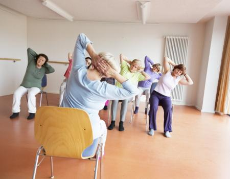 Chair yoga could ease joint pain in the elderly