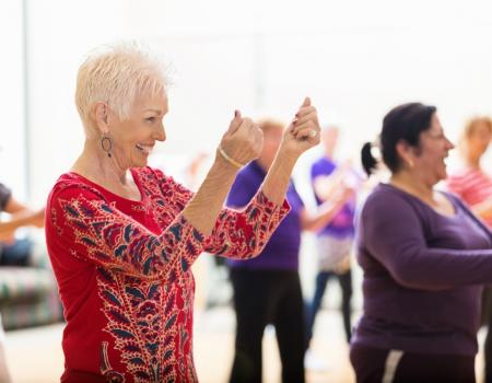 Line dancing offers better protection against dementia than walking