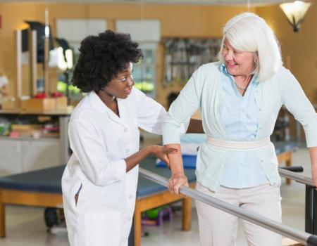 Poor balance causing injuries in elderly people