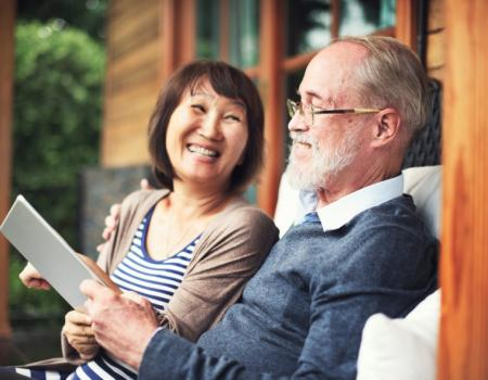 Positive attitudes can help elderly deal with stress
