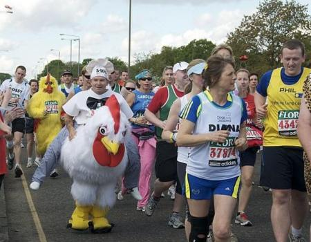 Dementia charity introduces its running team
