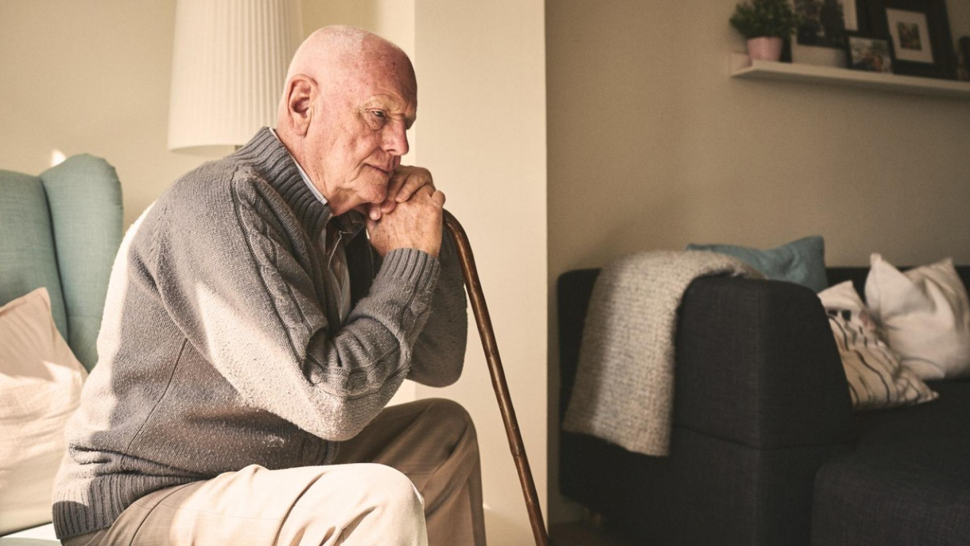 Depression is harder to overcome in old age