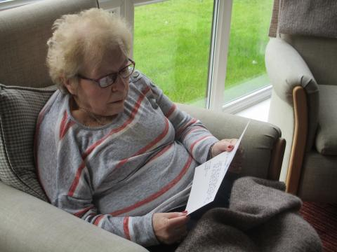 Residents Receive Messages of Kindness