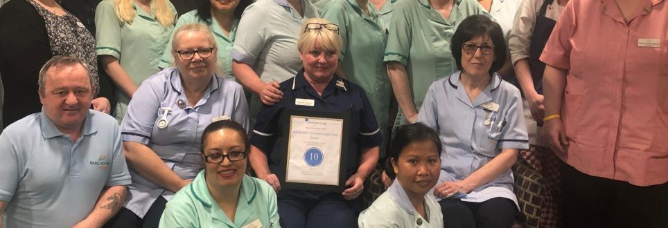 10/10 Result for Local Care Home