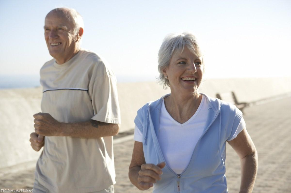 A healthy lifestyle 'can delay frailty, disability and dementia in later life'