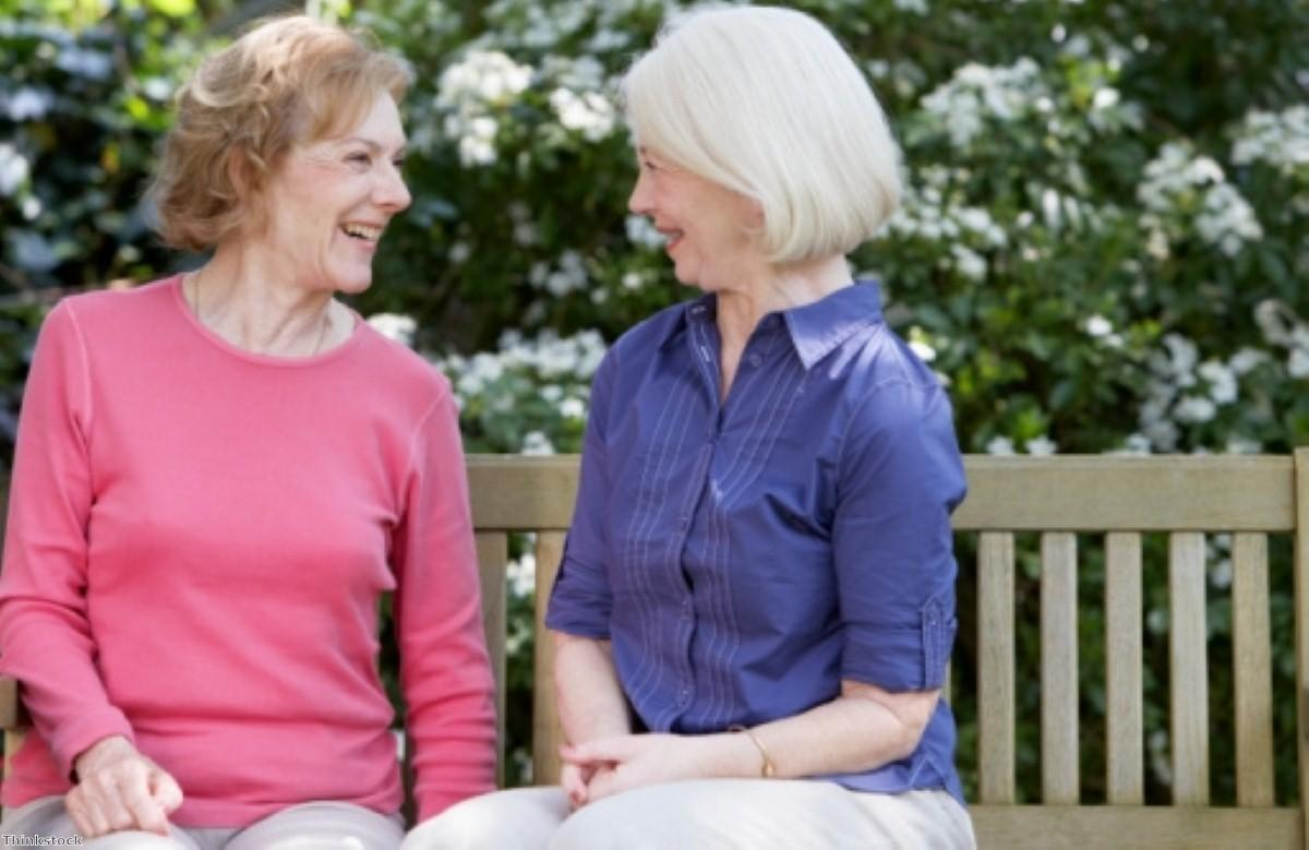 Pensioners working together to plug social care gaps