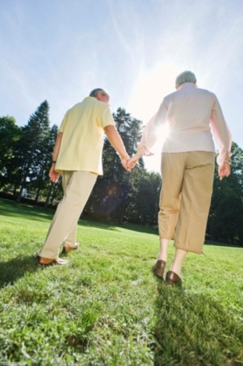 Ageing couples affect each other's quality of life