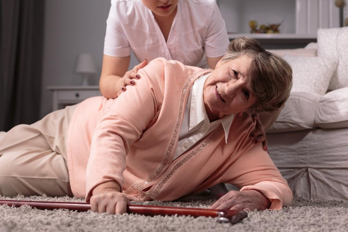 Falls by elderly account for a third of major trauma cases