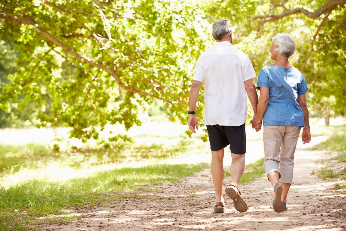 Encourage over-60s to walk 10 minutes a day for heart health