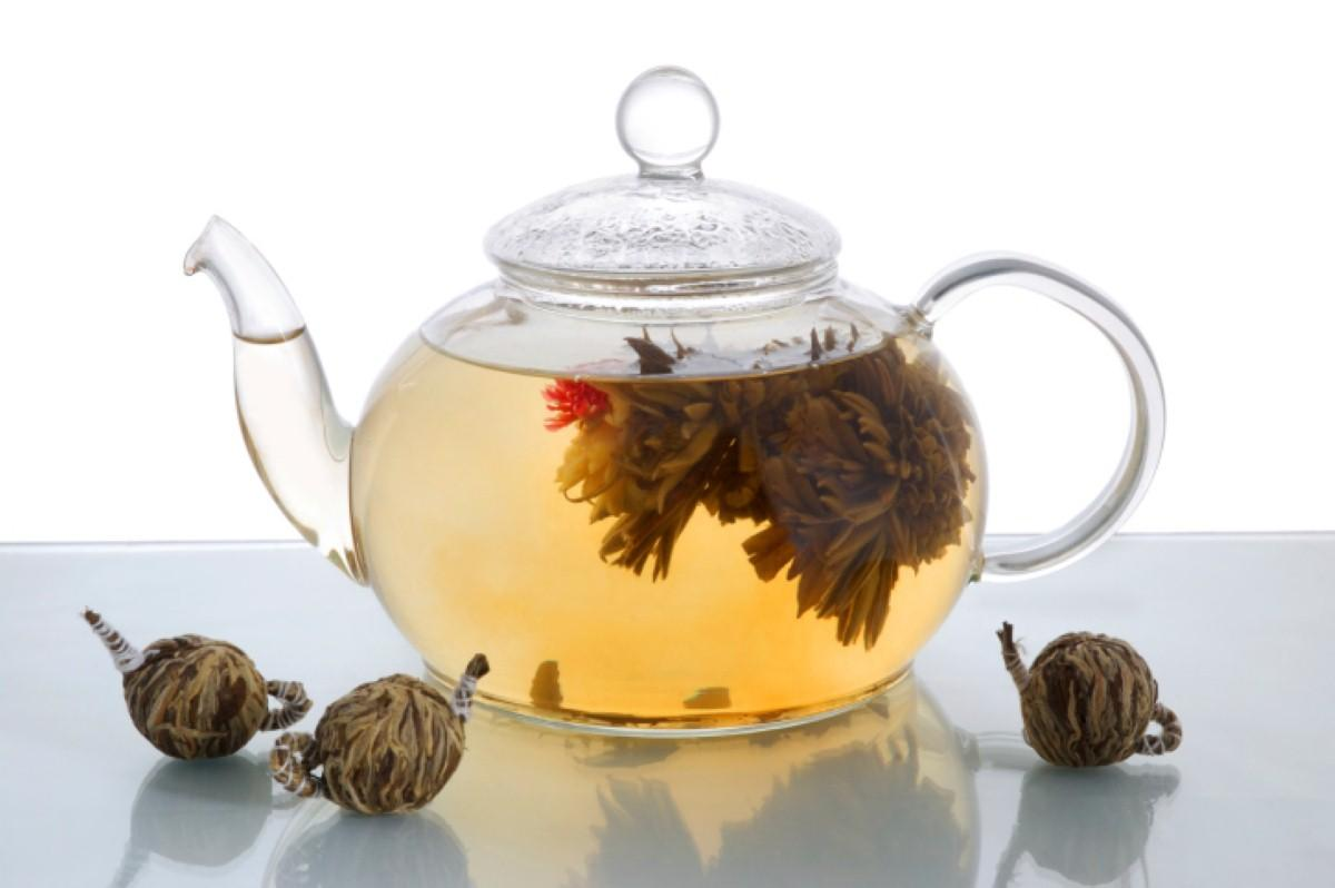 Drinking herbal tea brings about health benefits