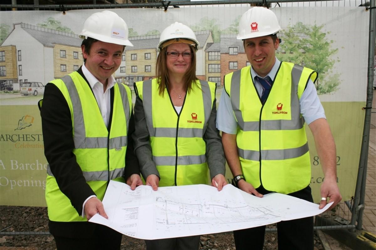 BUILDING WORK ON PLAN FOR NEW DERBY CARE HOME