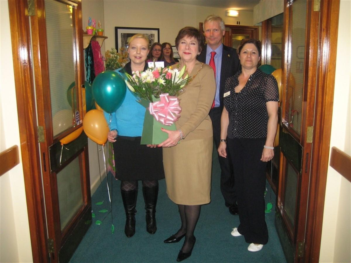 MAYOR  UNVEILS NEW FACILITIES AT LOCAL CARE HOME