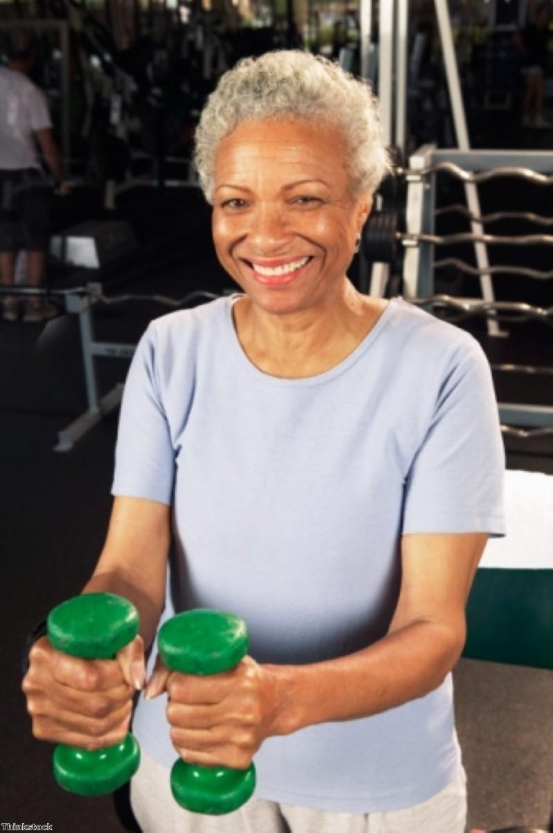 A little exercise 'can improve older person's life quality'