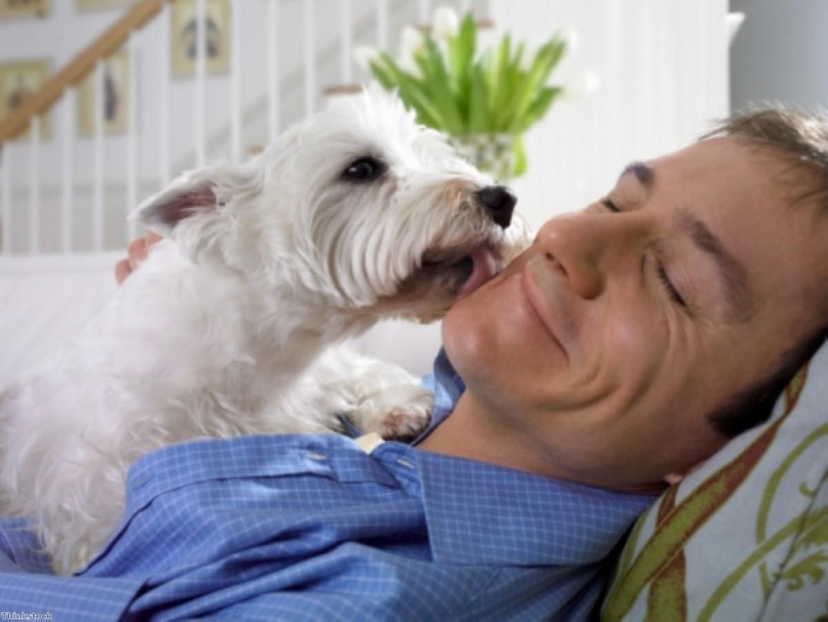 Pet dog helps woman to ease her Parkinson's symptoms
