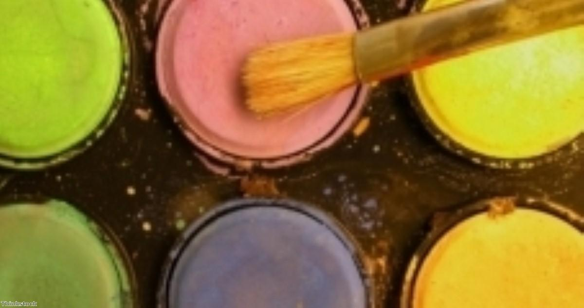 Care provider sponsors picture perfect painting activity