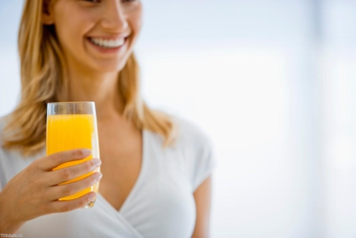 Fruit juice 'beneficial to health'