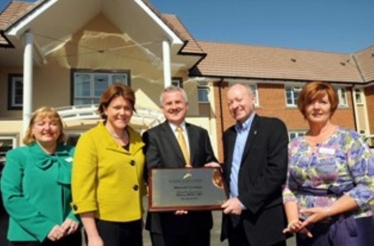 Maria Miller MP opens Marnel Lodge Care Home in Basingstoke