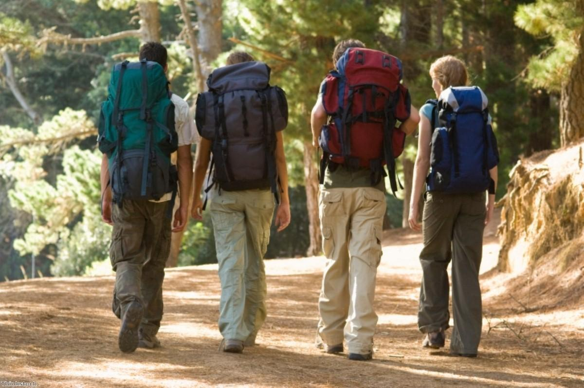 Brothers prepare to hike for multiple sclerosis