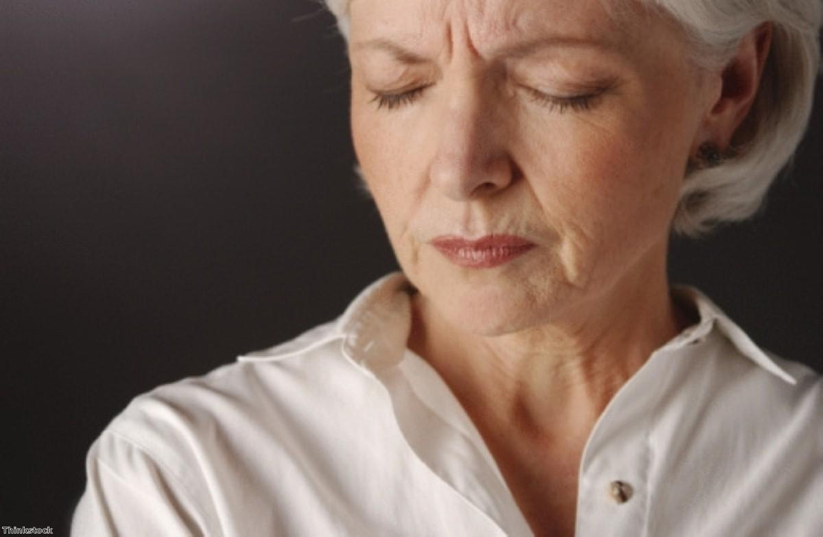 Hot flushes and night sweats continue long after menopause