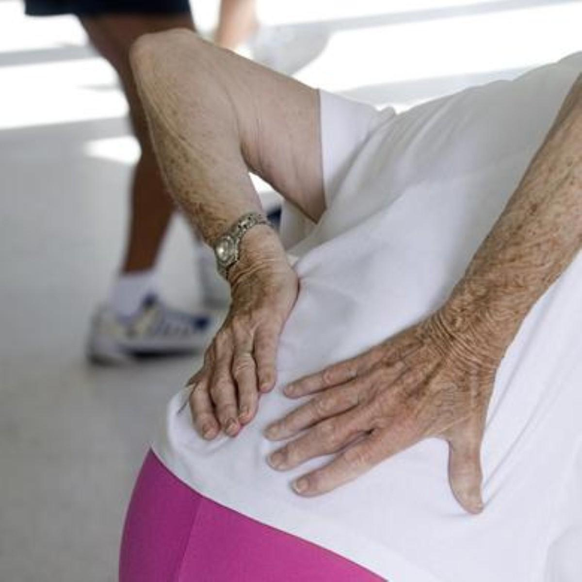 Good posture and treatment are vital to combat back pain