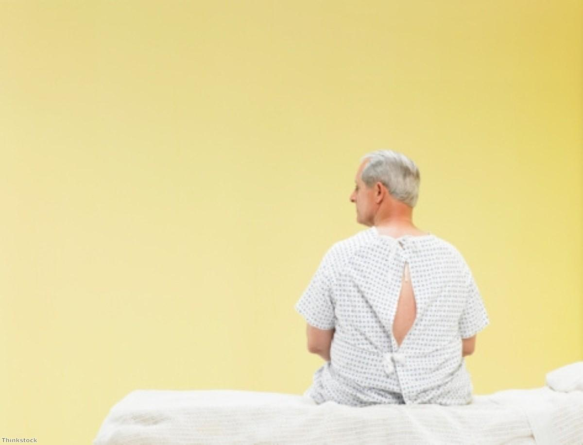 Does having prostate cancer increase mortality risk?