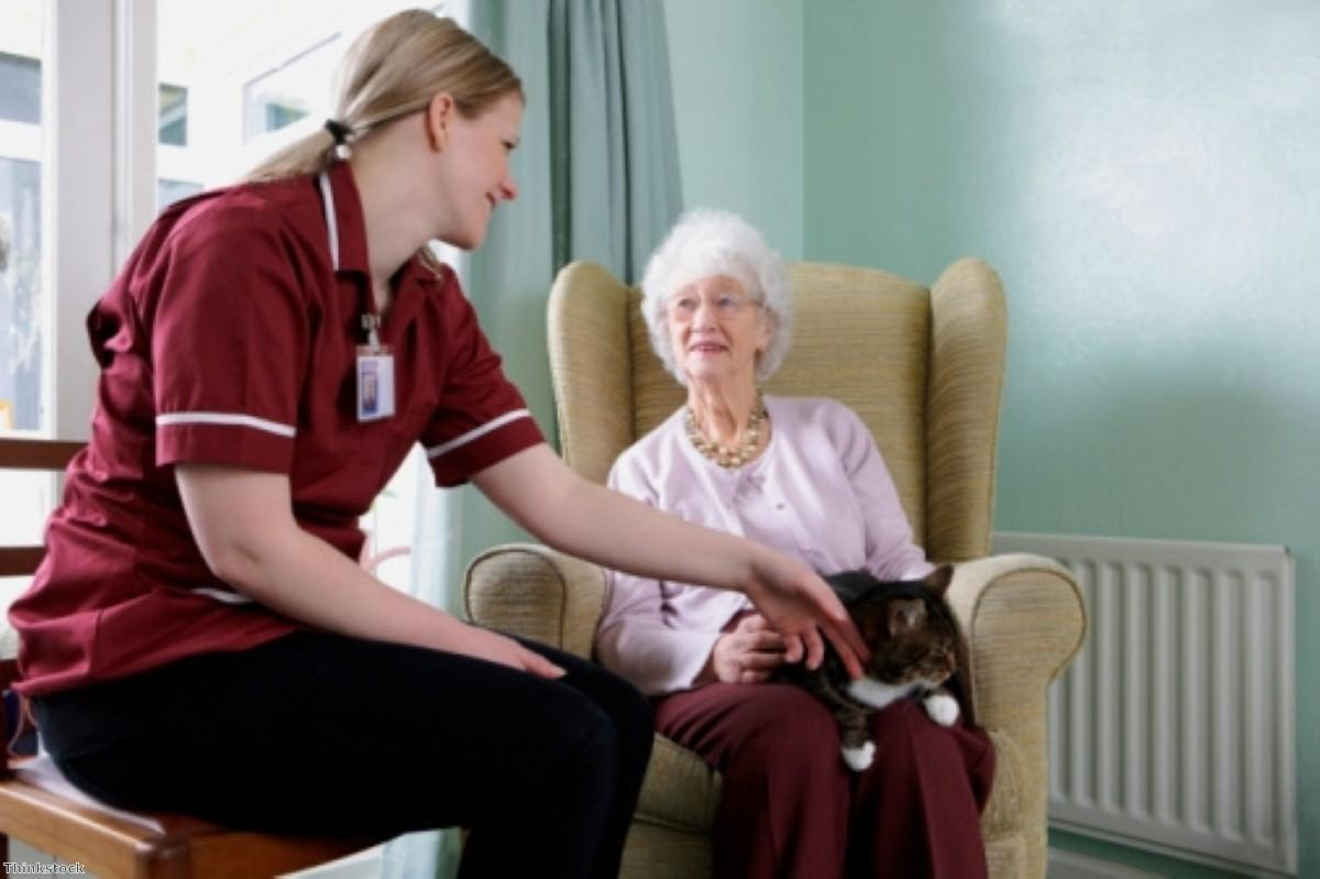 80% of people in care homes have dementia