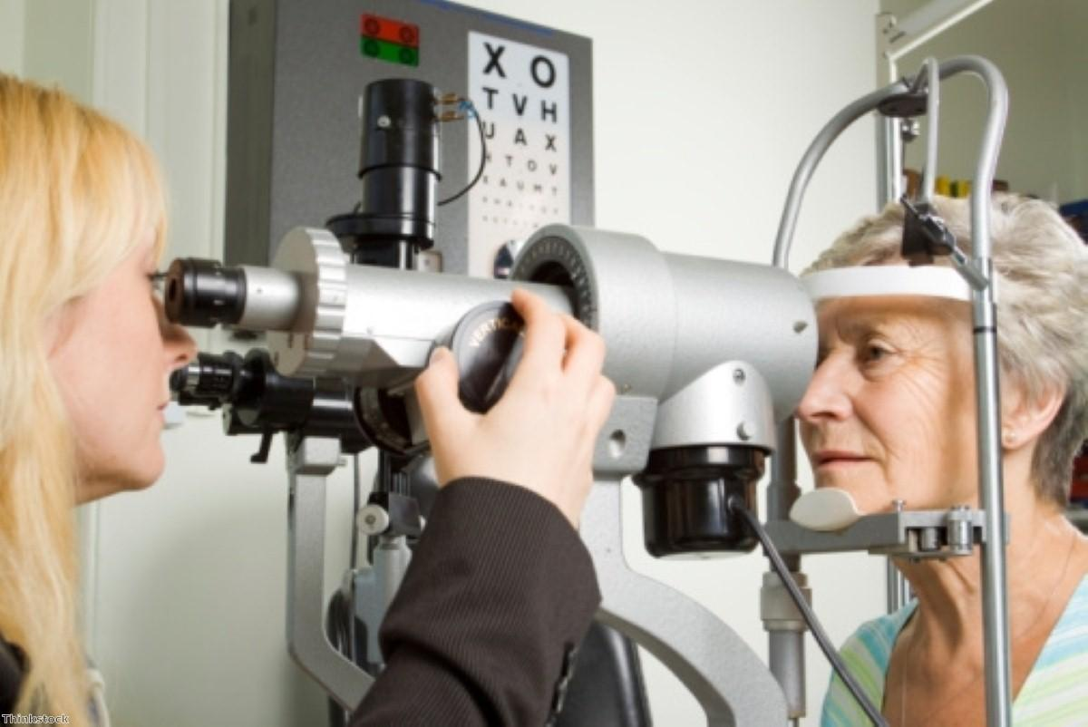 Eye exam 'could diagnose Alzheimer's'