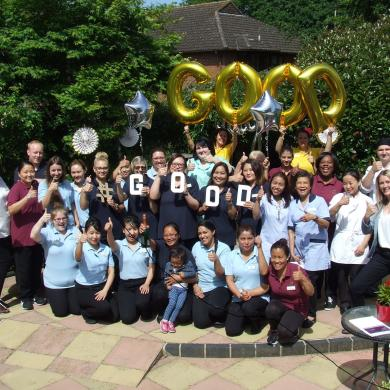Celebrating our GOOD CQC!