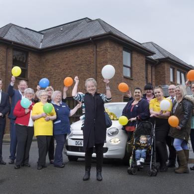 Carer Wins a Brand New Car!