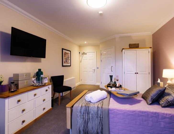 Trinity Manor Care Home bedroom