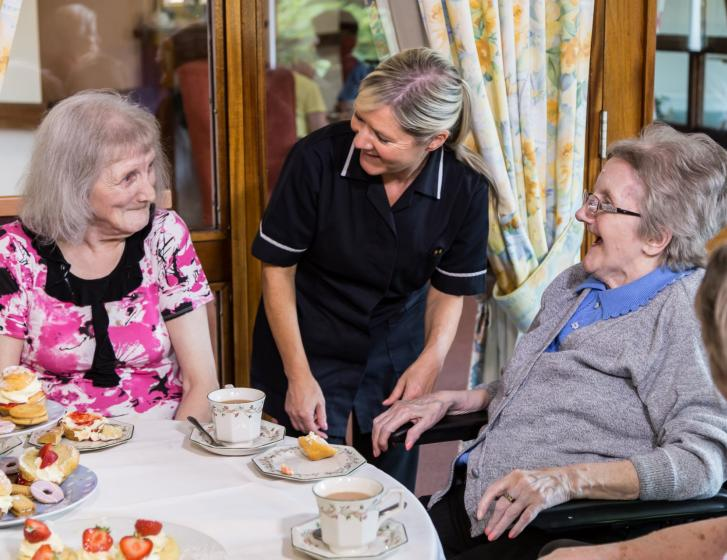 Barchester care homes are open to the public - get in touch to make an appointment