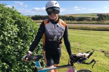 Aileen bike challenge