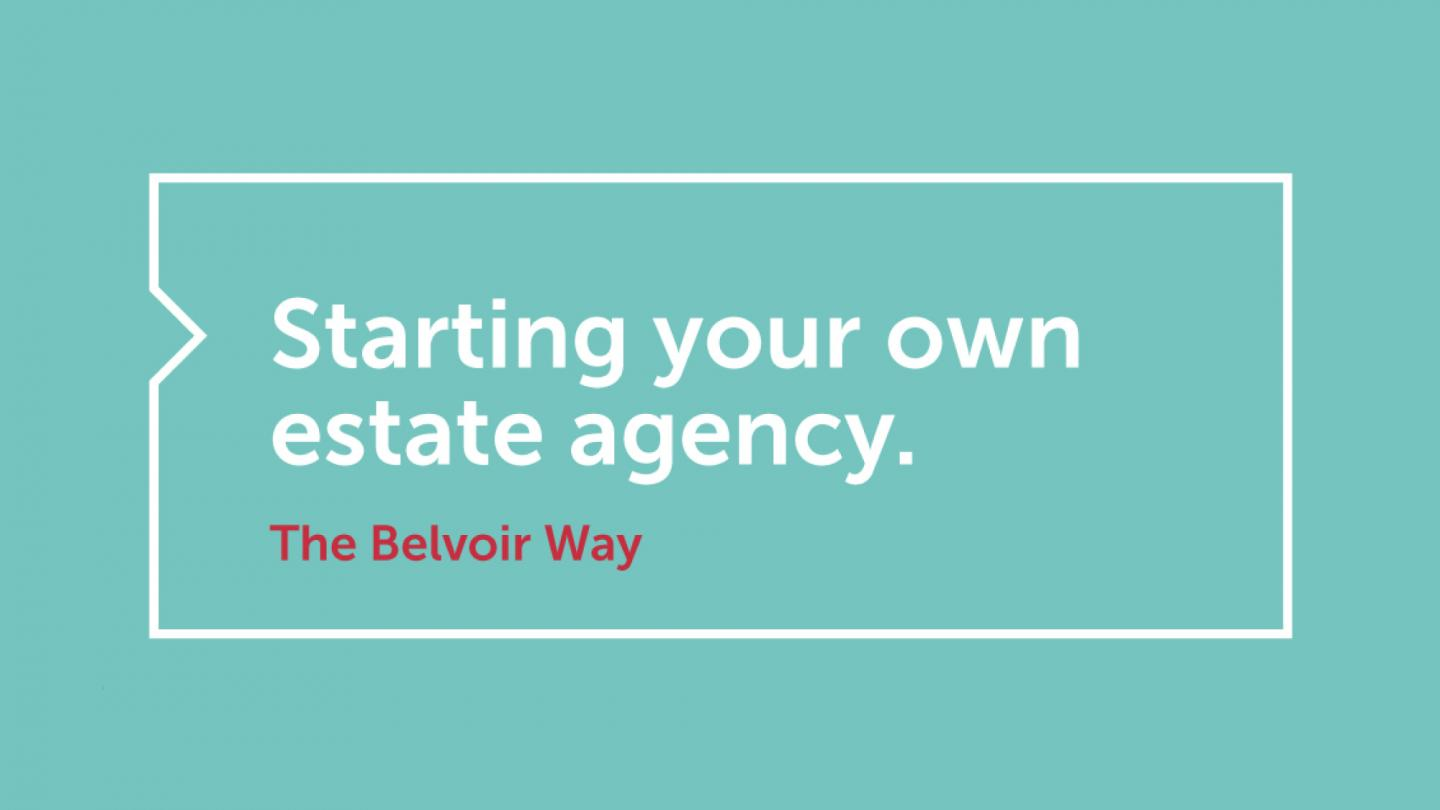 Starting your own estate agency